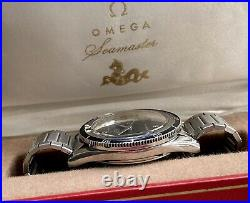Omega Seamaster 300 Steel Mens 14755 62 SC Automatic Vintage Divers Rare Watch