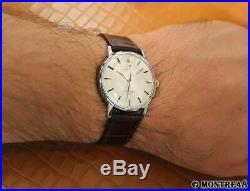 Omega Seamaster 600 Rare Men Swiss Made 1960 Manual 34mm Vintage Watch S231