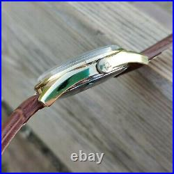 Omega Seamaster Automatic Oversize Vintage Rare Mens Watch Gold Filled Day Date