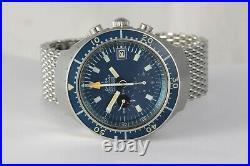Omega Seamaster Big Blue! Ref 176.004 vintage! Rare! Caliber 1040