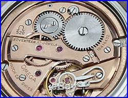 Omega Seamaster Cal 520 Rare Men 33mm Swiss Made Manual Vintage 1960 Watch A32