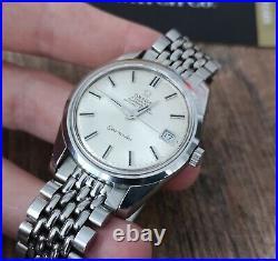 Omega Seamaster Chronometer Rare Vintage Men's Watch 1969 Serviced + Warranty