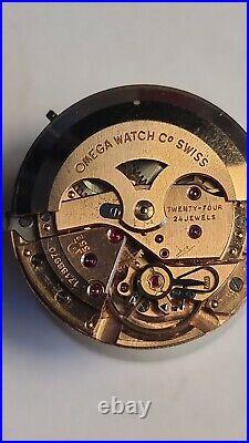 Omega Seamaster Crosshair Rare Vintage Men's Watch 1959, Serviced + Warranty