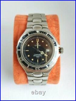Omega Seamaster (Pre Bond) Submariner 200M- Original Rare Vintage 1980s- Quartz
