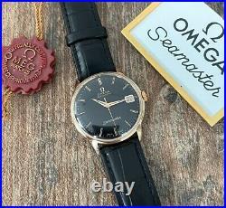 Omega Seamaster Rare 18k Automatic Mens Vintage Watch 1963, Serviced + Warranty