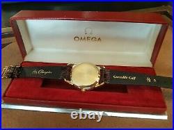 Omega Seamaster Vintage Hammer Movement Automatic Yellow Gold 18K Rare Ref275SC