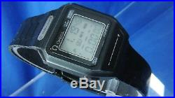 Omega Sensor LCD Digital Vintage Watch 1980s Touch Panel 1640 SUPER RARE PVD