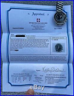 Omega Speedmaster Reduced 3510.50 175.0032 Chronograph 38.5mm Rare Patina Dial