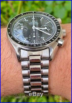 Omega Speedmaster Reduced 3510.50 Chrono 38.5mm with Rare Gold Movement & Case