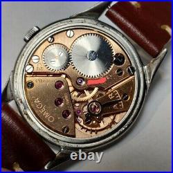 Omega Spider Year 1952 Rare Vintage watch Ref. 2605 Servised
