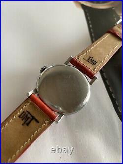 Omega Teddington Red Star 30t2 Sc Rare Vintage