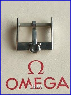 Omega Vintage 16mm Stainless Steel Buckle Very Rare & Highly Collectable