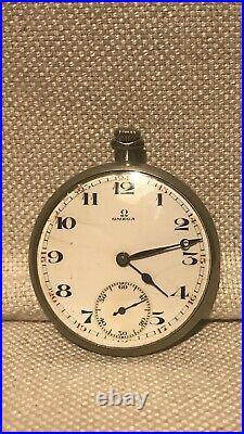 Omega Vintage Pocket Watch! Original And Rare