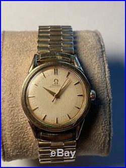 Omega bumper 351 1951 two tone Ref. 2597-7 Rare Find