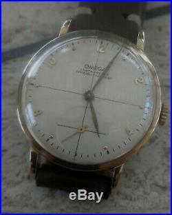 Omega chronometre cal 30t2rg anno 1948/50 case oro 18k rare vintage
