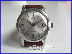 Omega seamaster calendar manual winding- 1960 Vintage Swiss Watch. Rare
