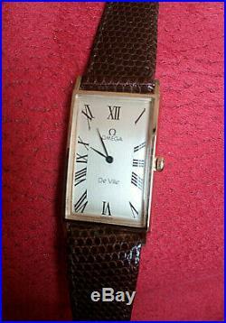 Orologio OMEGA De Ville Tank Curvex Rare Dial 65-Mint Condition- Vintage Watch