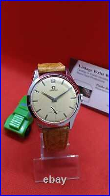 Orologio OMEGA Rare Dial Virato Gold Ref. 2750-Excellent Condition-Vintage Watch