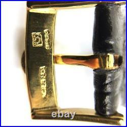 Pie Pan Omega 18K gold constellation mens wrist watch vintage rare restored