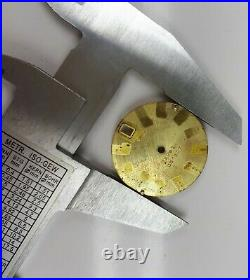RARE NOS DIAL FOR OMEGA SEAMASTER CHRONOMETER ELECTRONIC F300hz CONE WATCH PARTS