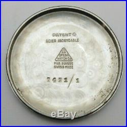 RARE OMEGA AUTOMATIC STEEL Cal. 28.10 R. A SC. PC Ref. 2421/1 BRACELET ORIGINAL