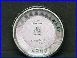 RARE OMEGA CHRONOMETRE 30T2 SC RG, REF. 2410-1 STEEL 40`s