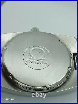 RARE Omega Genève Automatic Cal 1012 Ref 366.0835 Vintage 1970's Black Dial