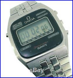 RARE! Omega Vintage Speedmaster LCD