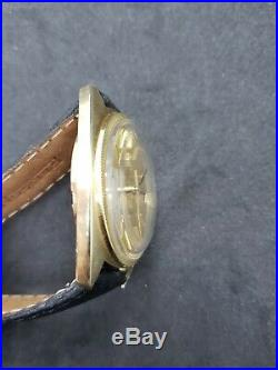 RARE VINTAGE OMEGA CONSTELLATION 14k Cal 751 swiss made automatic 168.029 1968