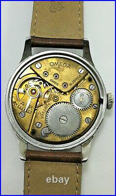 RARE VINTAGE SWISS WATCH OMEGA VINTAGE Cal. 30T2 CIRCA 1939