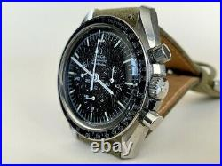 RARE Vintage 1969 Omega Speedmaster Professional DOT OVER 90 Watch 145.022-69ST