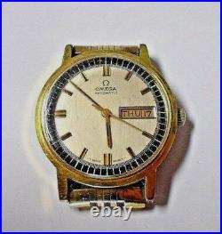 RARE Vintage 1970 OMEGA Automatic Watch Cal 750 Model 1660140-Day/Date-WORKING