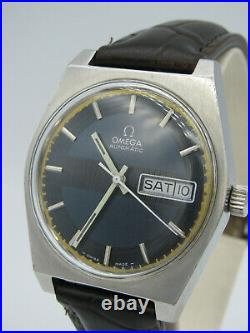 RARE Vintage 1970 Omega Stainless Steel Automatic Watch Cal. 750 6026R/2