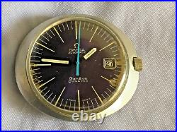RARE Vintage Omega Dynamic Geneve Blue Dial AUTOMATIC Mens Watch