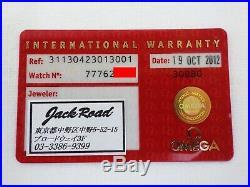 Rare 100%AUTH OMEGA Speedmaster Brown Dial Moon Watch 311.30.42.30.13.001 Men's