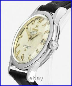 Rare 1958 OMEGA Constellation Calendar 2953 4 SC Vintage Mens Wrist Watch