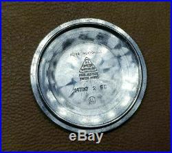 Rare 1960's Omega Chronometer Silver Dial Cal561 Auto Man's Watch