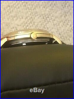 Rare 1965 Omega Constellation 18k Gold Capped Auto Cal561 Men's Watch Serviced