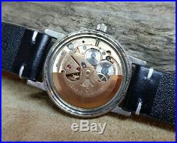 Rare 1968 Omega Seamaster White Dial Date Automatic Cal565 Man's Watch