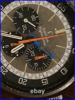 Rare Authentic Omega Flightmaster Pilots Edition 1970s Vintage Watch