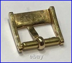 Rare Boucle Omega 10 MM En Or 18 K @ 750 Gold Omega Buckle 10 MM @ Vintage @ Top