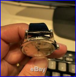Rare Condition Original Omega Seamaster Bumper Cal342 Ref2576 Automatic Watch