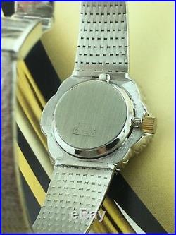 Rare Estate Vintage Omega 18k White Gold Diamond Hand Winding Watch