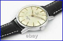 Rare OMEGA Seamaster 30 Cal 286 Vintage Stainless Steel Mens Wrist Watch 1962