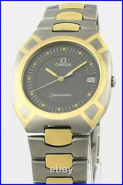 Rare OMEGA Seamaster Polaris All Titanium 396.1020 Mens Mid Size Wrist Watch