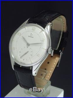Rare Omega Calibre 266 Jumbo Oversize Mens Vintage Watch C1954