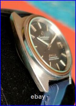Rare Omega Constellation Blue Dial, C Shape ST168.0056 chronometer men's vintage