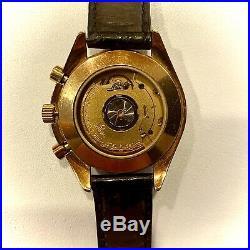 Rare Omega Speedmaster Apollo Chronograph Solid 18kt Gold
