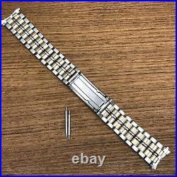 Rare Spaceview Asymmetrical Accutron JB Champion Long 1960s Vintage Watch Band