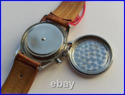 Rare Unique Lemania Vintage Chronograph watch 1957 As Omega Speedmaster 321 NOS
